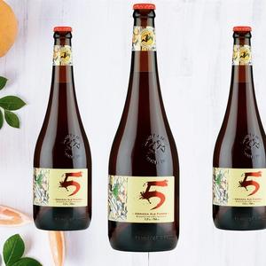 Cerveza Kross 5 años Ale Fuerte 750 cc