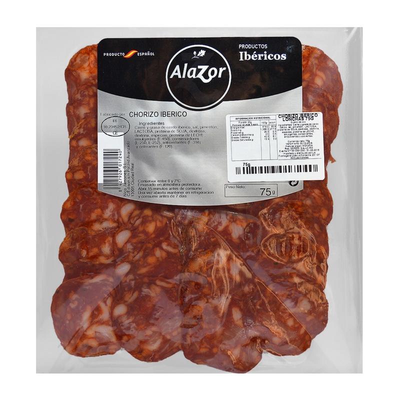 Chorizo Iberico Alazor 75gr