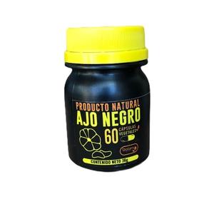 Capsulas Ajo Negro 60U 36 gr