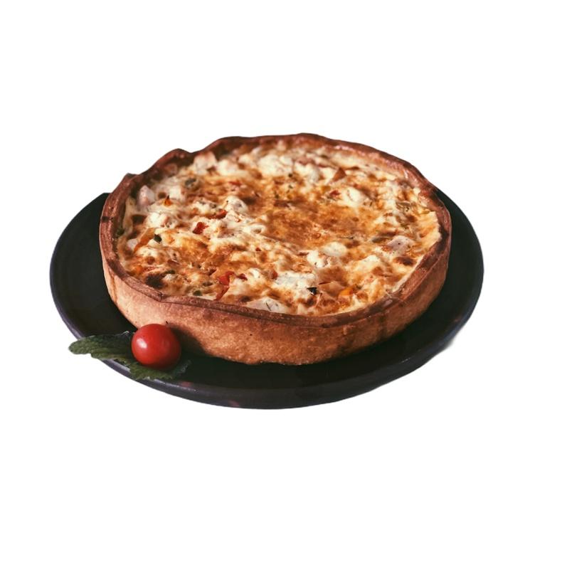 Quiche Cebolla Caramelizada Tocino 4-6 (Patache)
