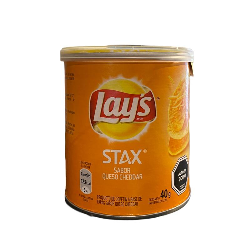 Lays Stax Cheddar 40gr (Evercrips)