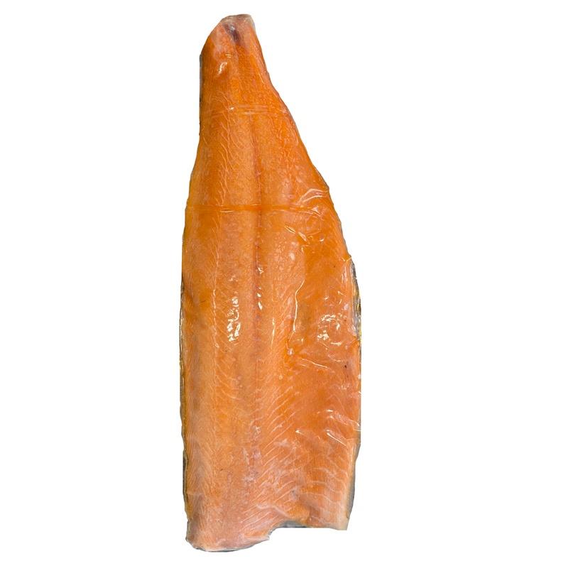 Salmon Filete Con piel congelado  (aleta) (Corte de 1,70 kg)