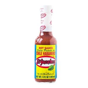Salsa Picante Habanero Rojo Yucateco 120ml