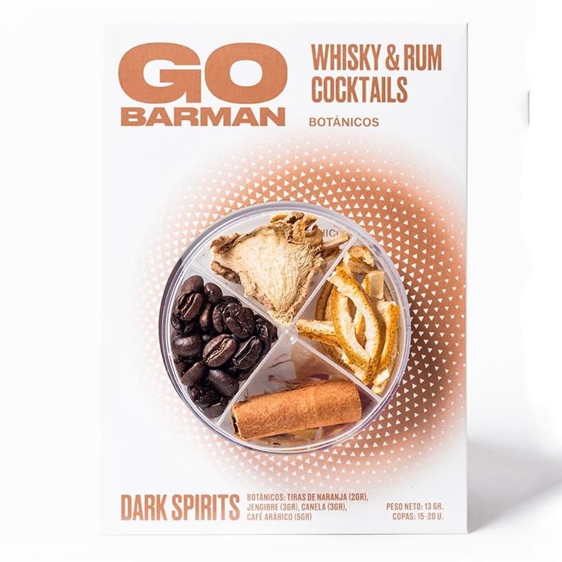Blister Botanico Whisky (Go Barman)