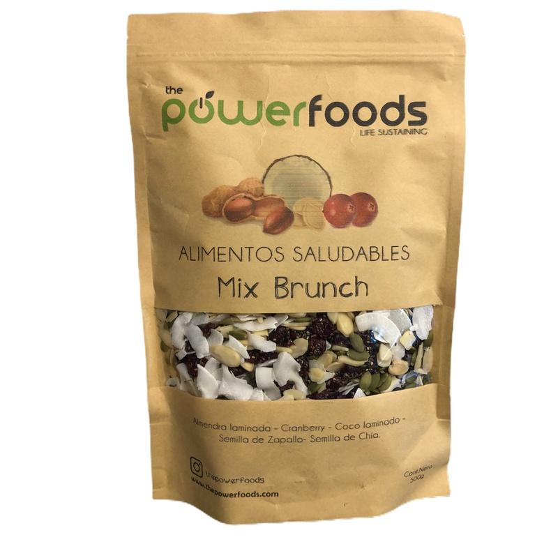 Mix Brunchs 500 Gr (powerfoods)