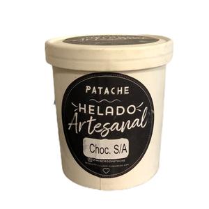 Helado Artesanal Chocolate Sin Azúcar 500ml (Patache)