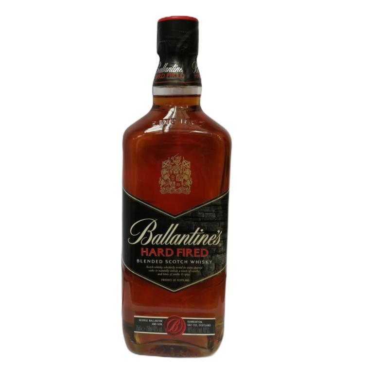 Whisky Ballantines Hard Fired
