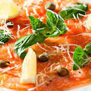 Carpaccio Salmon Ahumado 200 gr (puntalobos)