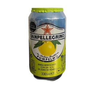 Agua Sanpellegrino Cans Pompelmo 330ml.(330)