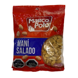 Mani salado 160gr (Marco polo)