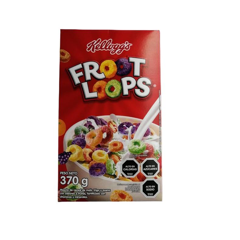 Froot Loops 370 Gr. (Kellogg's)