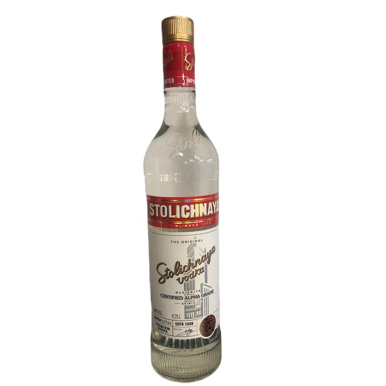 Vodka Stolichnaya 750cc. (Stolichnaya )