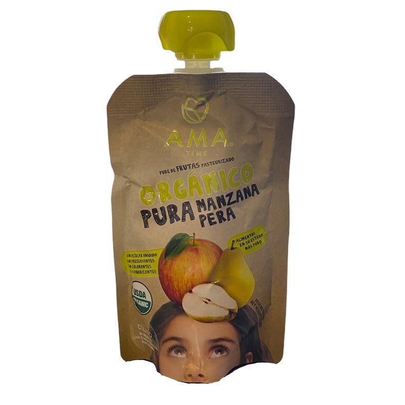 Pure De Fruta Organico Manzana Pera (LOGO)