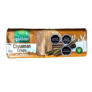 Galleta Cinnamon Crisp 235 gr (gullon)