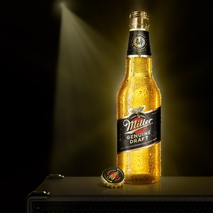 Cerveza Miller Genuine Draft Bot 355Ml
